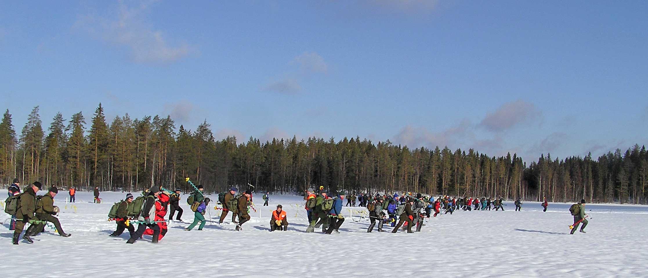 Iso Ruuhijärvi Kajaani